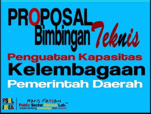 Proposal BIMTEK Penguatan Kapasitas Kelembagaan Pemda